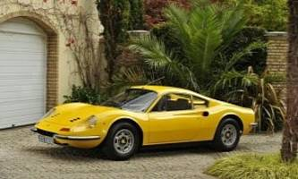 1972 Ferrari Dino 246GT Once Owned by Elton John Goes on Auction [Photo Gallery]