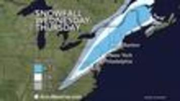 Wednesday Nor'easter Will Make For Hazardous Holiday Travel
